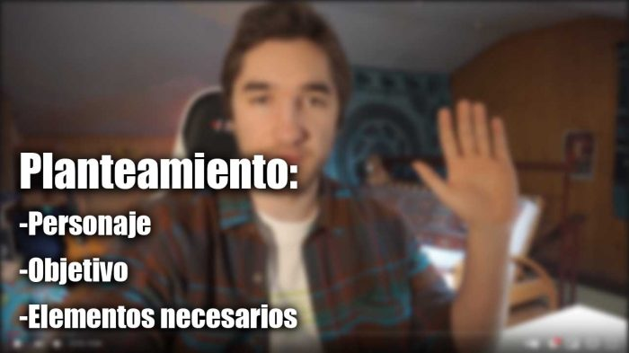 Ejemplo guion youtube
