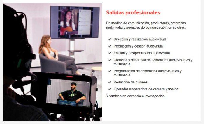 Comunicación audiovisual en la Universidad del País Vasco