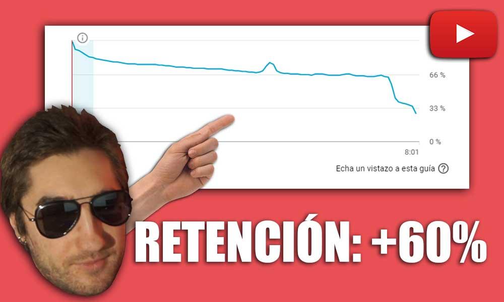 cómo aumentar la retención youtube